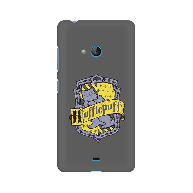 Nokia Lumia 540 Hufflepuff House Crest Harry Potter Phone Cover & Case