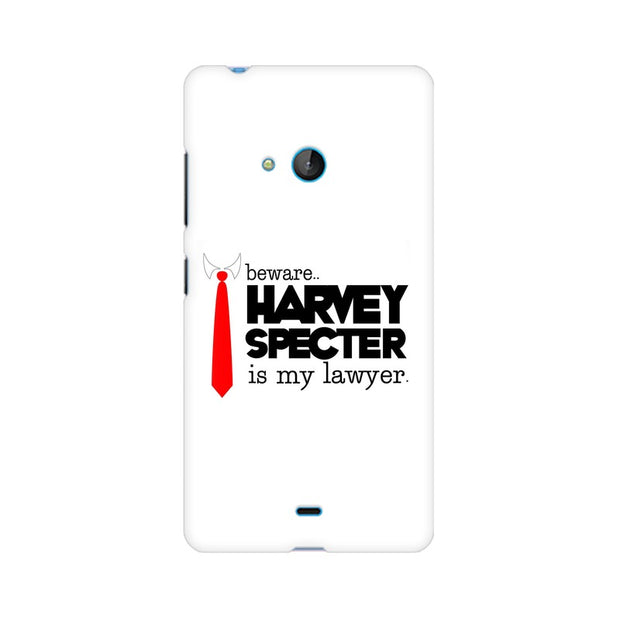 Nokia Lumia 540 Harvey Spectre Is My Lawyer Suits Phone Cover & Case