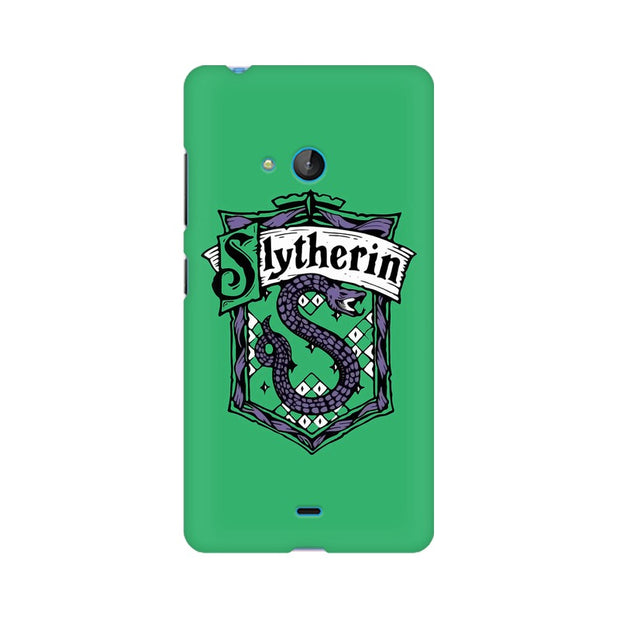 Nokia Lumia 540 Slytherin House Crest Harry Potter Phone Cover & Case
