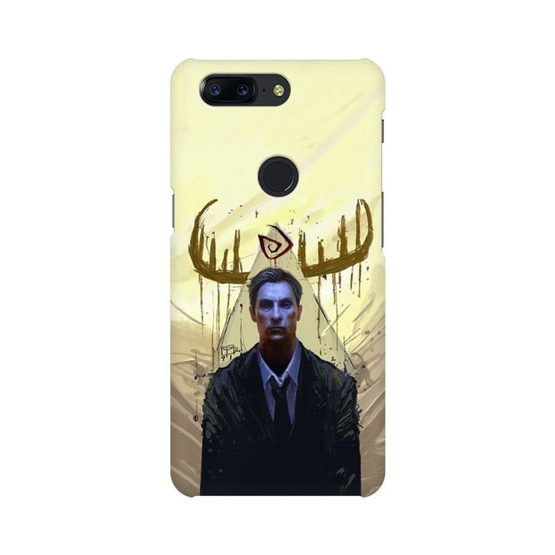 OnePlus 5T True Detective Rustin Fan Art Phone Cover & Case
