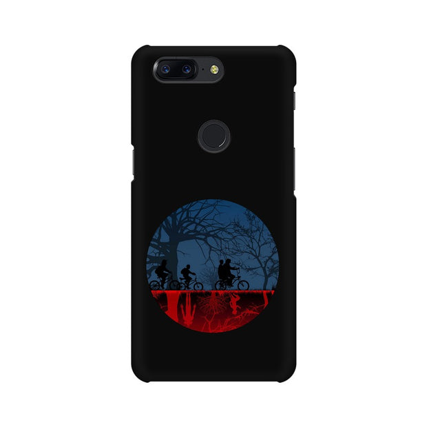 OnePlus 5T Stranger Things Fan Art Phone Cover & Case