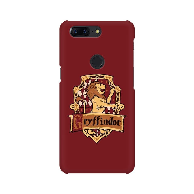 OnePlus 5T Gryffindor House Crest Harry Potter Phone Cover & Case