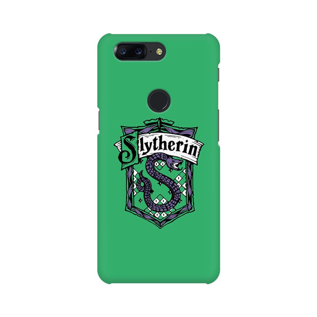 OnePlus 5T Slytherin House Crest Harry Potter Phone Cover & Case