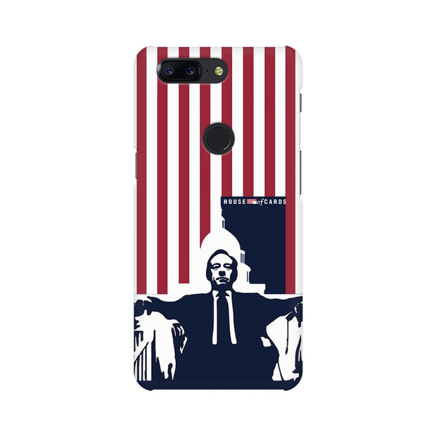 OnePlus 5T House Of Cards Underwood On Chair Phone Cover & Case