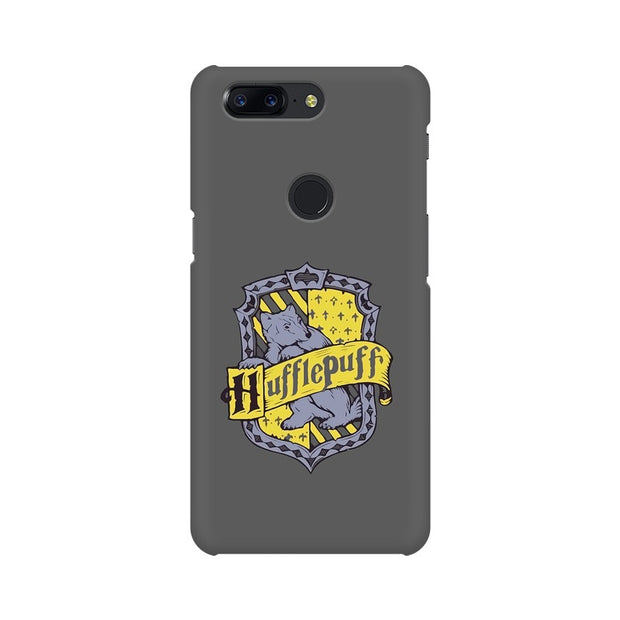 OnePlus 5T Hufflepuff House Crest Harry Potter Phone Cover & Case