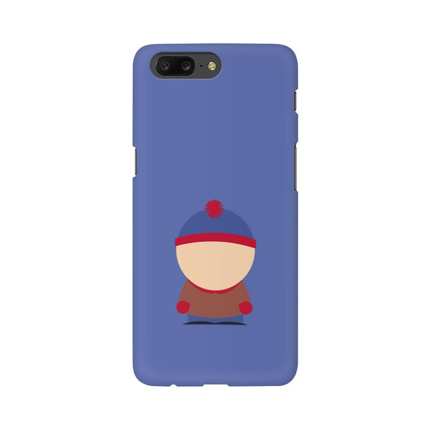 OnePlus 5 Stan Marsh Minimal South Park Phone Cover & Case