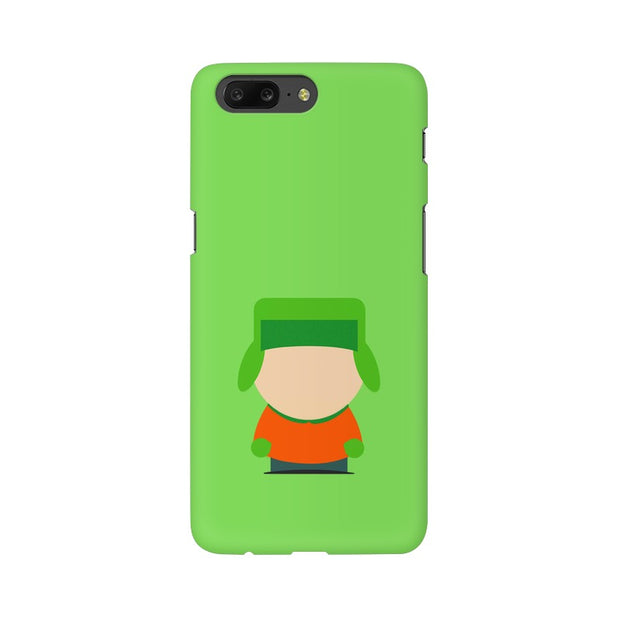 OnePlus 5 Kyle Broflovski Minimal South Park Phone Cover & Case