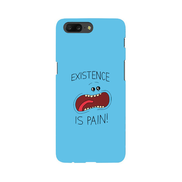 OnePlus 5 Existence Is Pain Mr Meeseeks Rick & Morty Phone Cover & Case