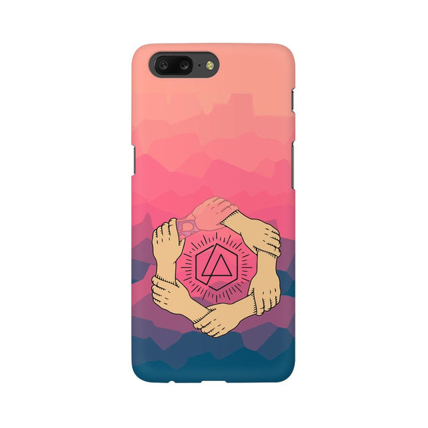 OnePlus 5 Linkin Park Logo Chester Tribute Phone Cover & Case