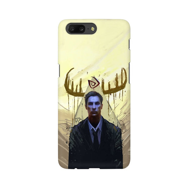 OnePlus 5 True Detective Rustin Fan Art Phone Cover & Case