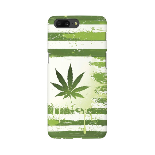 OnePlus 5 Weed Flag  Phone Cover & Case