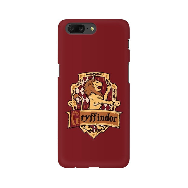 OnePlus 5 Gryffindor House Crest Harry Potter Phone Cover & Case