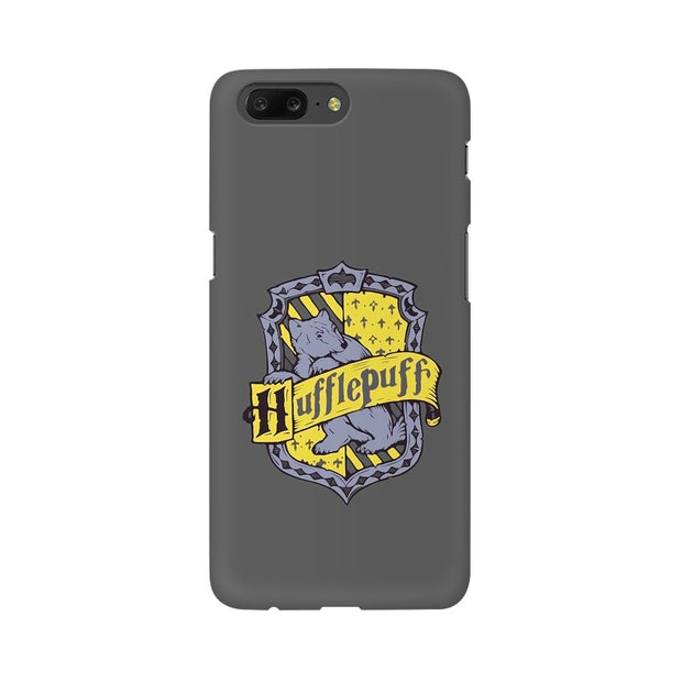 OnePlus 5 Hufflepuff House Crest Harry Potter Phone Cover & Case