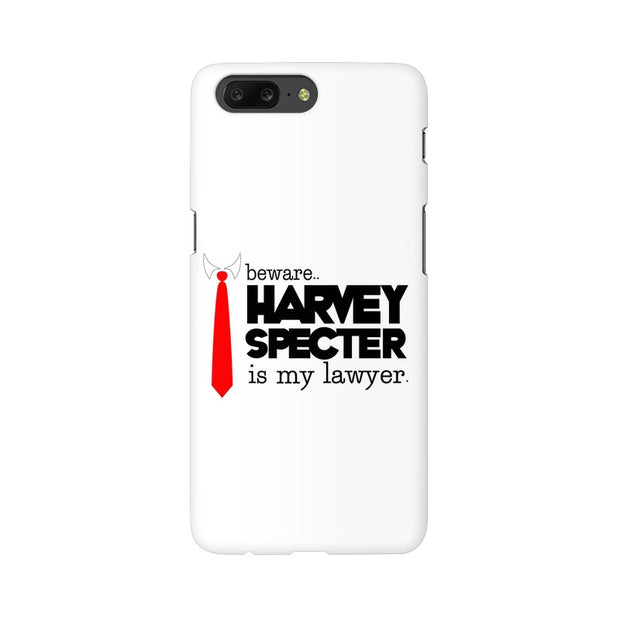 OnePlus 5 Harvey Spectre Is My Lawyer Suits Phone Cover & Case