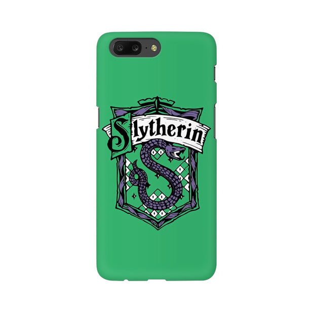 OnePlus 5 Slytherin House Crest Harry Potter Phone Cover & Case