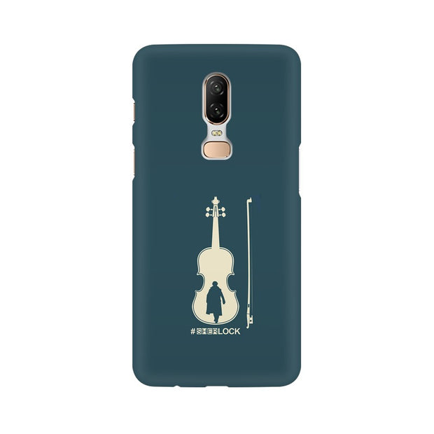 OnePlus 6 Sherlock Violin Fan Art Phone Cover & Case