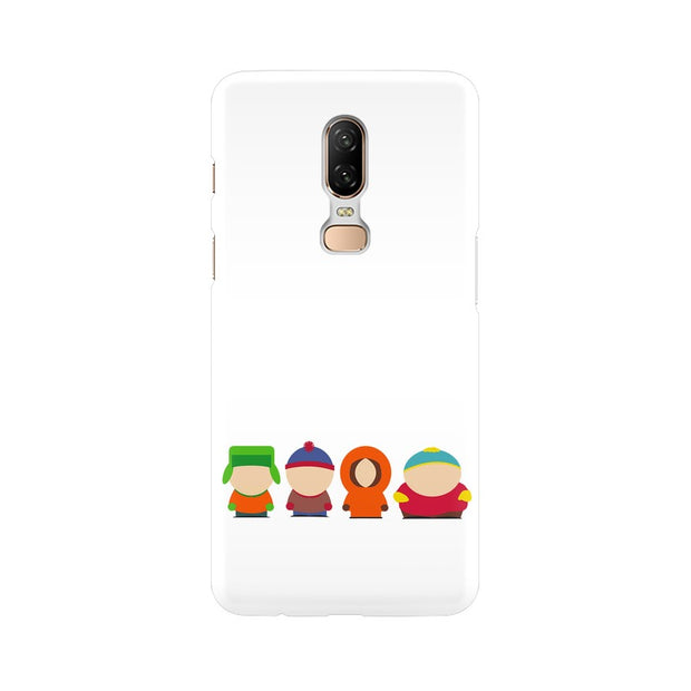 OnePlus 6 South Park Minimal Phone Cover & Case