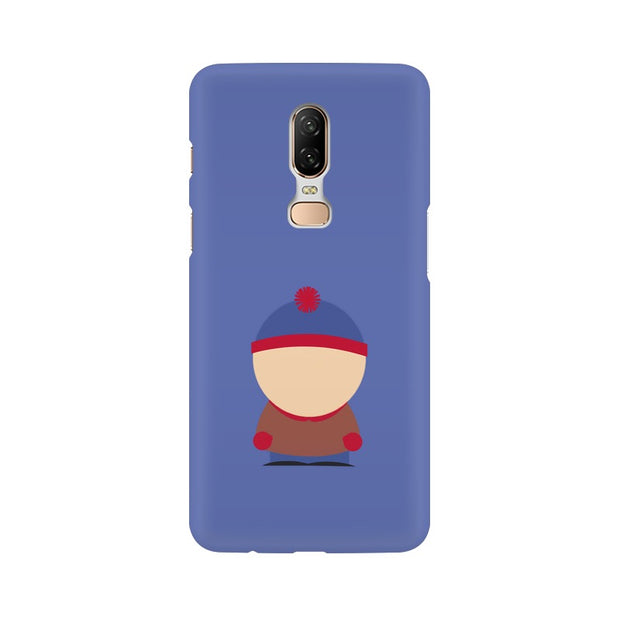 OnePlus 6 Stan Marsh Minimal South Park Phone Cover & Case