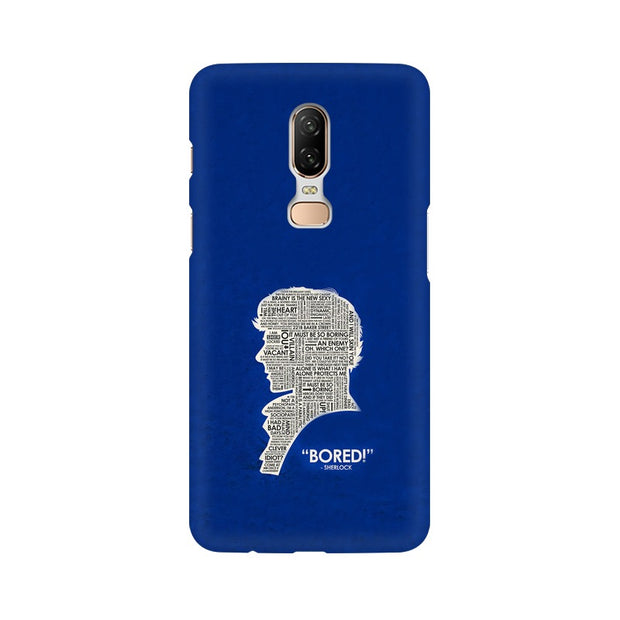"OnePlus 6 When Sherlock Is ""Bored"" Phone Cover & Case"