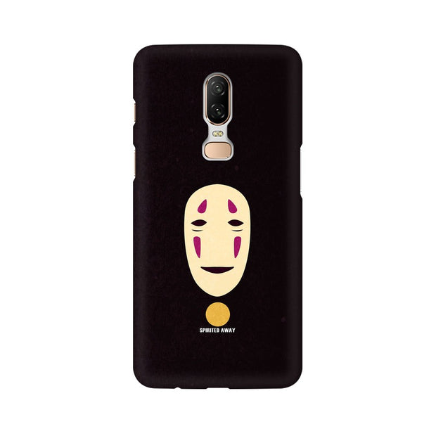 OnePlus 6 Spirited Away Minimal Anime Phone Cover & Case