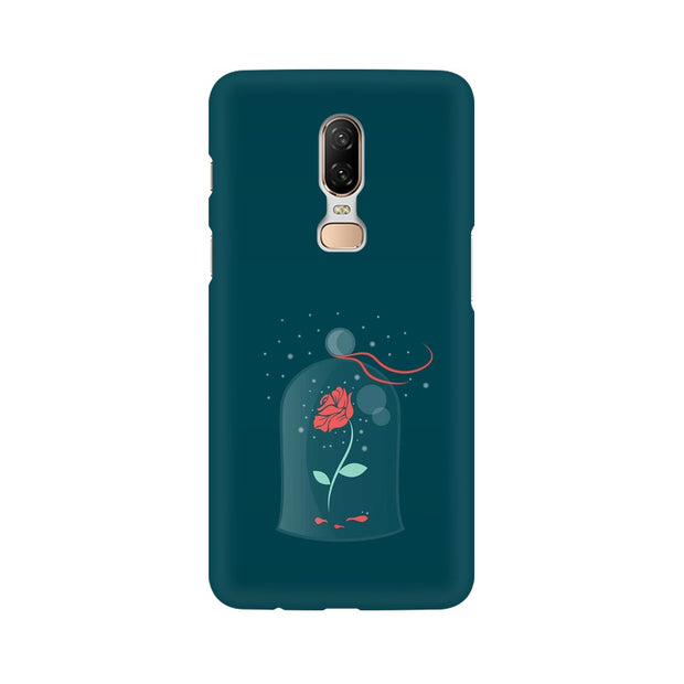 OnePlus 6 Rose of Love Beauty & The Beast Phone Cover & Case