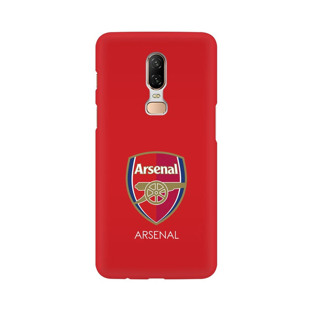 OnePlus 6 The Arsenal Crest Phone Cover & Case
