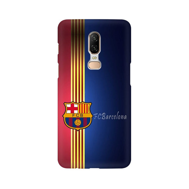 OnePlus 6 The Barca Crest Phone Cover & Case