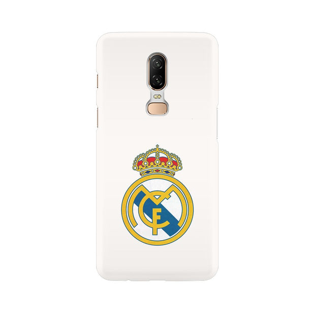 OnePlus 6 The Real Madrid Crest Phone Cover & Case