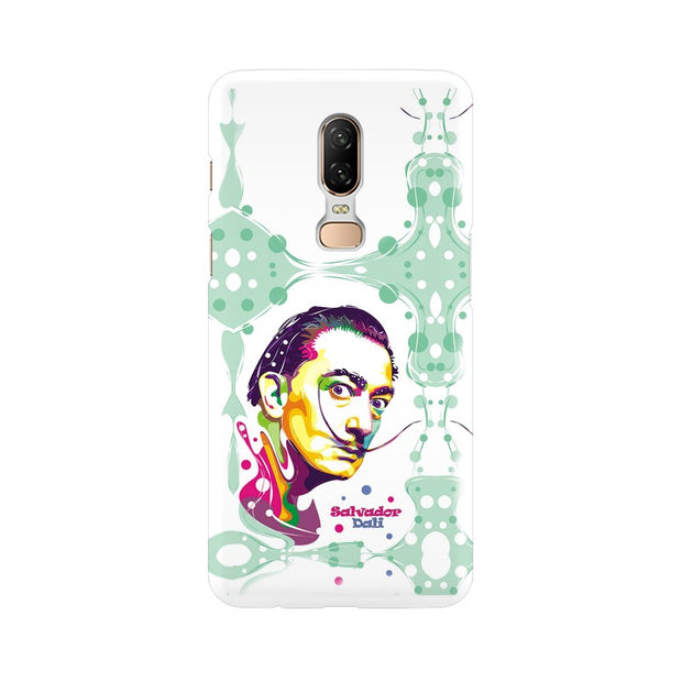 OnePlus 6 Salvador Dali Fan Art Phone Cover & Case