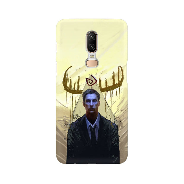 OnePlus 6 True Detective Rustin Fan Art Phone Cover & Case