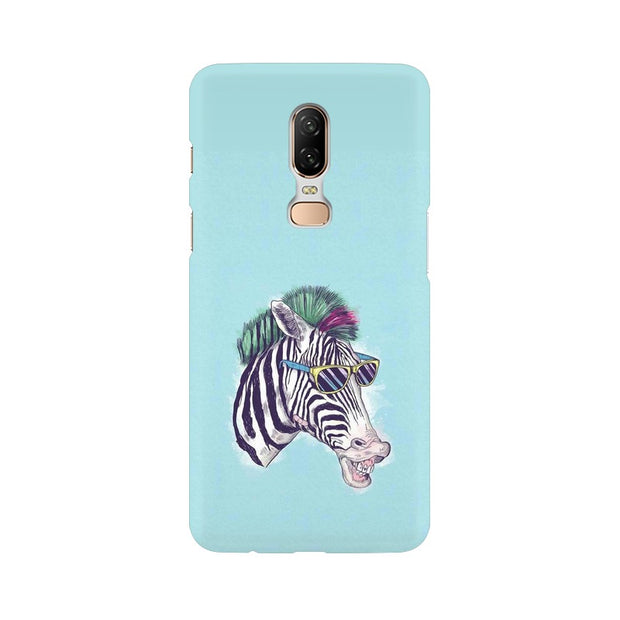 OnePlus 6 The Zebra Style Cool Phone Cover & Case
