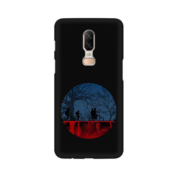 OnePlus 6 Stranger Things Fan Art Phone Cover & Case