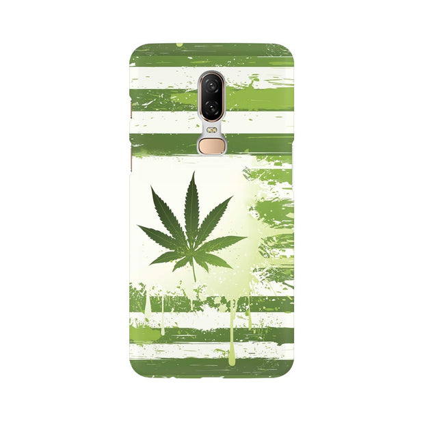 OnePlus 6 Weed Flag  Phone Cover & Case