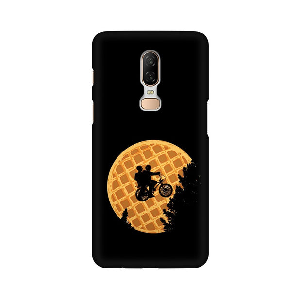 OnePlus 6 Stranger Things Pancake Minimal Phone Cover & Case