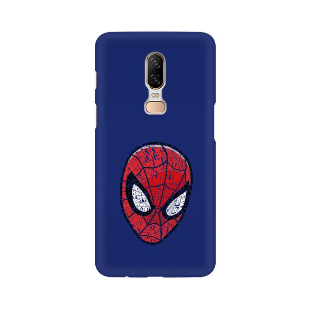 OnePlus 6 Spider Man Graphic Fan Art Phone Cover & Case