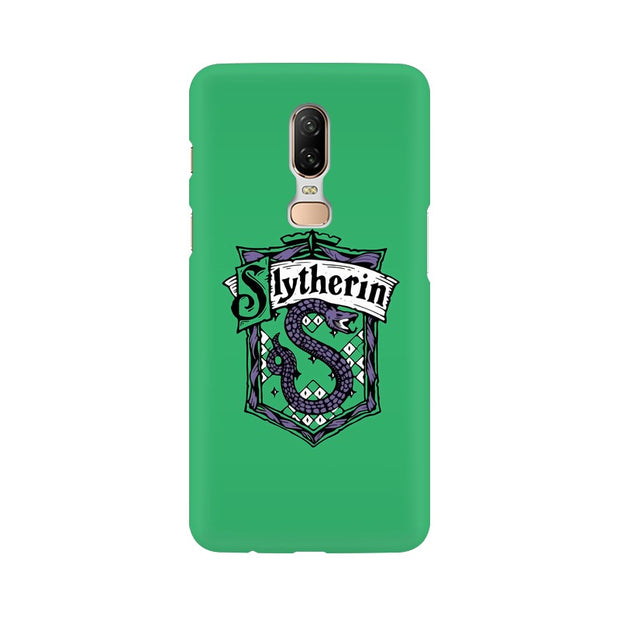 OnePlus 6 Slytherin House Crest Harry Potter Phone Cover & Case