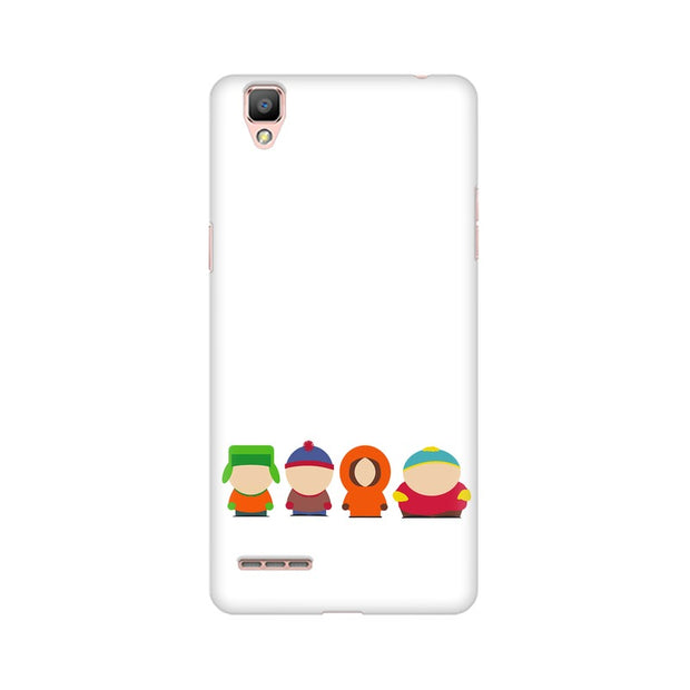 Oppo A35 South Park Minimal Phone Cover & Case