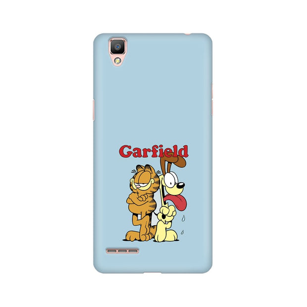 Oppo A35 Garfield & Odie Phone Cover & Case