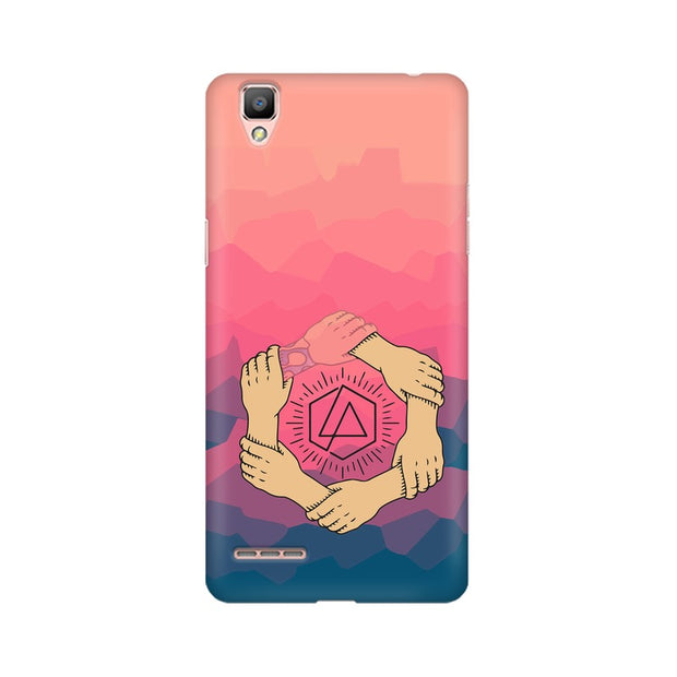 Oppo A35 Linkin Park Logo Chester Tribute Phone Cover & Case