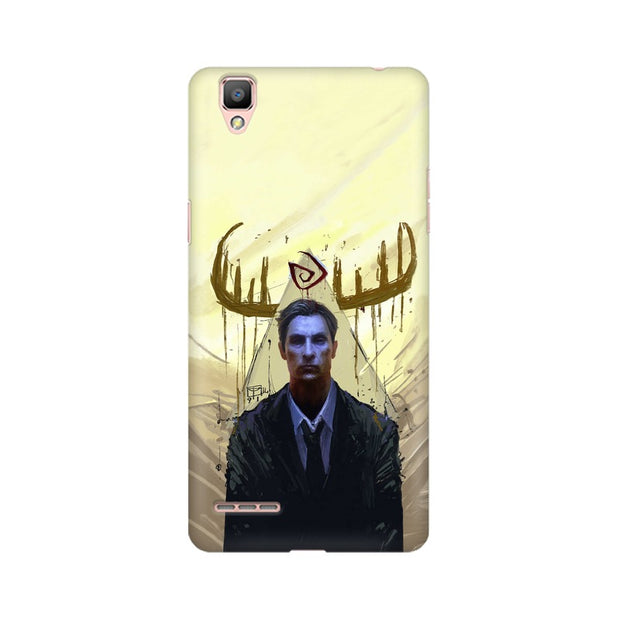 Oppo A35 True Detective Rustin Fan Art Phone Cover & Case