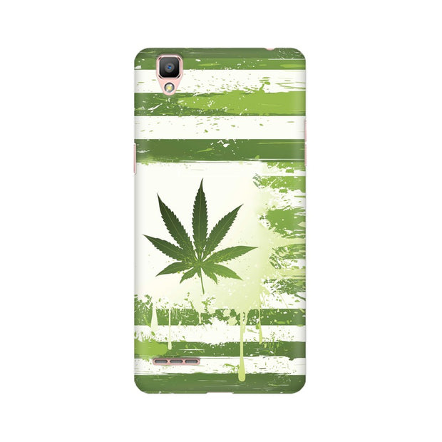 Oppo A35 Weed Flag  Phone Cover & Case