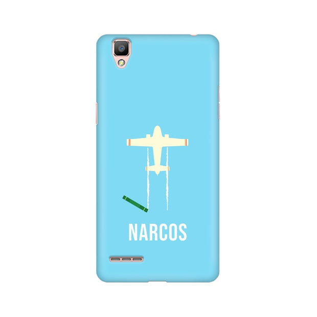 Oppo A35 Narcos TV Series  Minimal Fan Art Phone Cover & Case