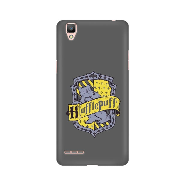 Oppo A35 Hufflepuff House Crest Harry Potter Phone Cover & Case