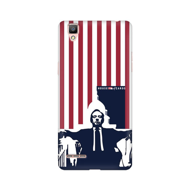 Oppo A35 House Of Cards Underwood On Chair Phone Cover & Case