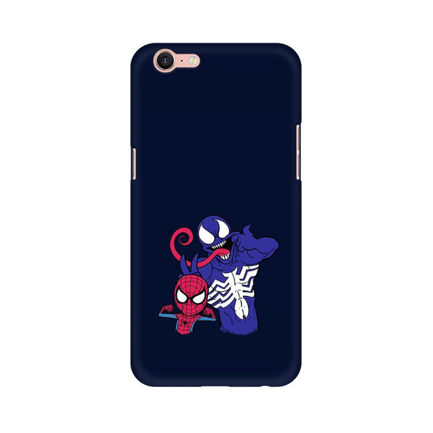 Oppo A39 Spider Man & Venom Funny Phone Cover & Case