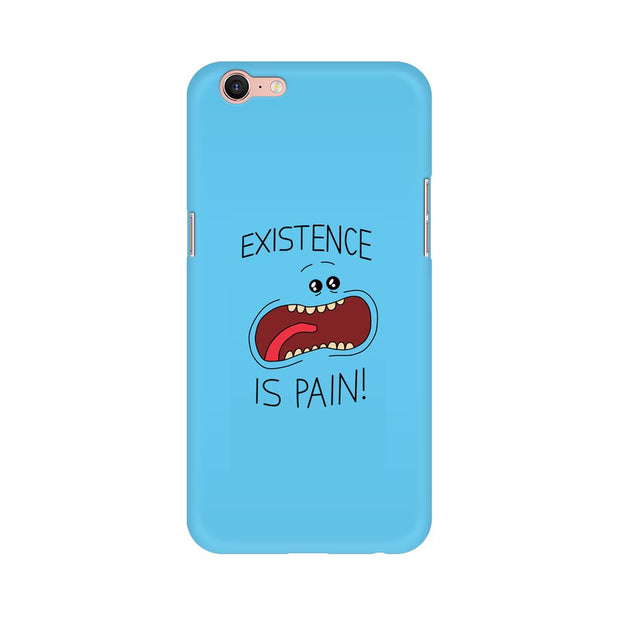 Oppo A39 Existence Is Pain Mr Meeseeks Rick & Morty Phone Cover & Case