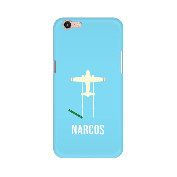 Oppo A39 Narcos TV Series  Minimal Fan Art Phone Cover & Case