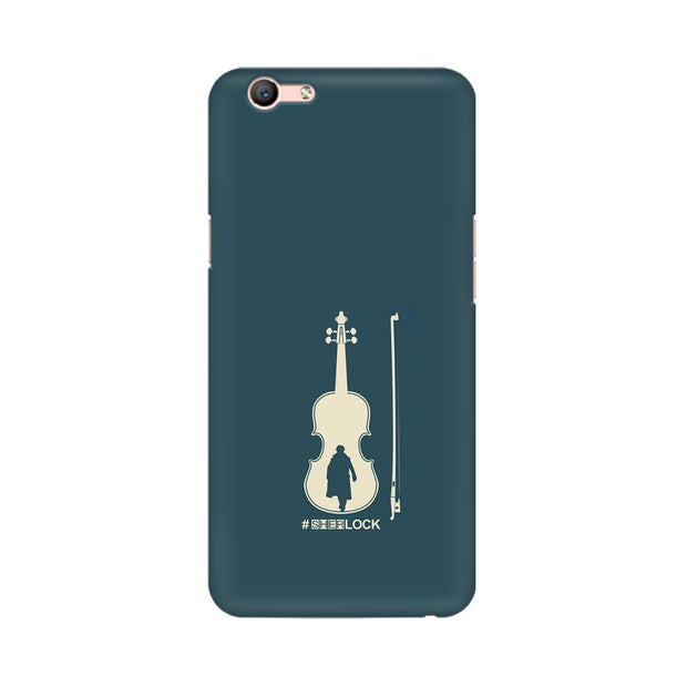Oppo A59 Sherlock Violin Fan Art Phone Cover & Case