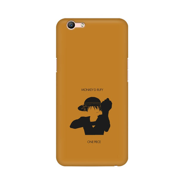 Oppo A59 Monkey D Luffy One Piece Minimal Phone Cover & Case