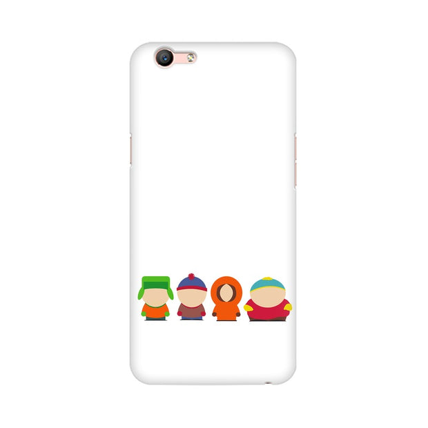 Oppo A59 South Park Minimal Phone Cover & Case